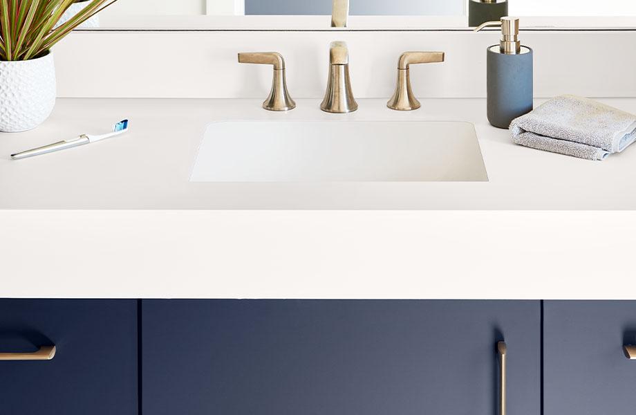 Salle de bain FENIX J0029 Bianco Male J0754 Blu Fes