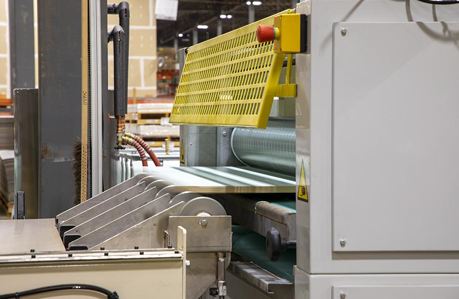 Formica Mt. Comfort Panel Press