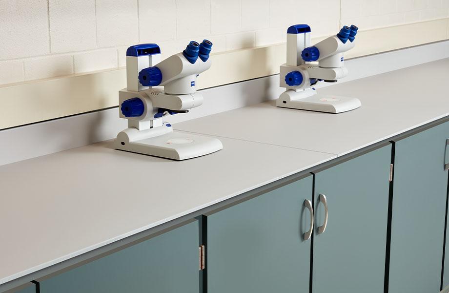 laboratoire dans un établissement scolaire FENIX J0750 Verde Comodoro J0725 Grigio Efeso