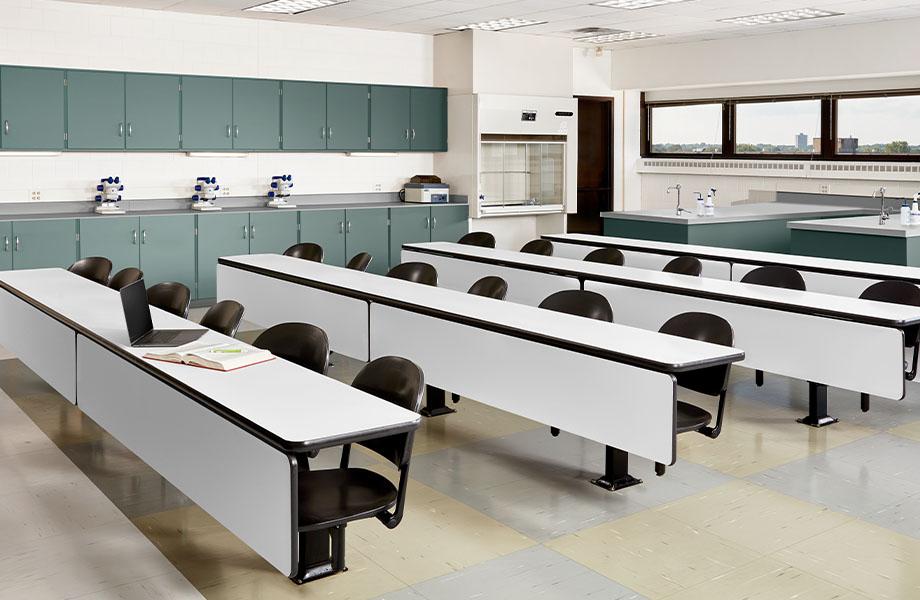 salle de classe FENIX J 0757 Bianco Dover J 0750 Verde Comodoro J 0725 Grigio Efeso